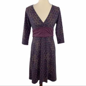 Patagonia Margot Purple Stretchy Soft Dress M